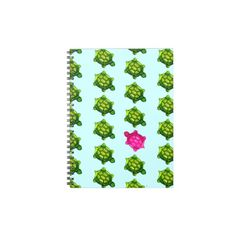 Green and Pink Turtle Pattern
