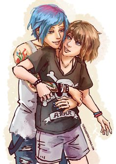 """Pricefield (Life is Strange) - """"Some Pricefield hugs"""" by Yuri-and-Tea"""