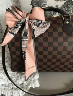 989102e506d7 Louis Vuitton speedy B 30 Damier ebene with lv bandeau Louis Vuitton Speedy  30