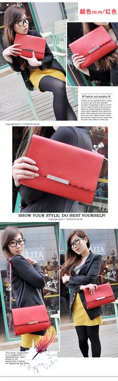 $11.70 STYLISH BAG :: Handbags :: 2012 new Korean 2219 leather clutch bag - Online Shop Philippines : Online Shopping Philippines, Korean Wholesale Clothing Philippines, Fashion Dress Supplier, Japanese Clothing Wholesale, Wholesale Handbags, Wholesale Korean Accessories