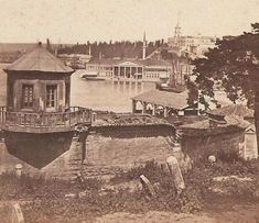 From the Russian archive in 1878 Istanbul page - 28 - Today Pin Istanbul City, Istanbul Turkey, Old Pictures, Old Photos, Istanbul Pictures, Dream City, Historical Architecture, Ottoman Empire, Historical Pictures
