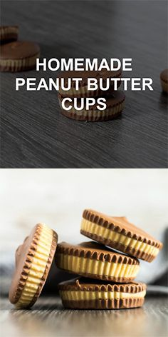 Homemade Peanut Butter Cups – A deliciously creamy and smooth peanut butter layer sandwiched between layers of milk chocolate. The perfect no-bake treat for peanut butter and chocolate lovers!