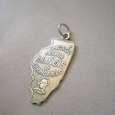 State of Illinois Charm