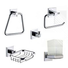 Arian #bathroom #accessory set high quality essential #collection wall mount chro,  View more on the LINK: 	http://www.zeppy.io/product/gb/2/261694335726/