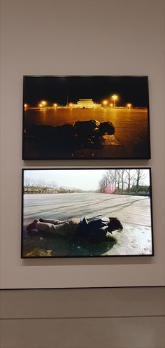 Song Dong, Breathing, Two color transparencies-diptych, two light boxes, printed pic by Moma Collection, Mom Birthday Gift, Contemporary Art, Boxes, Presents, Printed, Nyc, Painting, Color