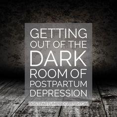 5 truths about darkness postpartum depression