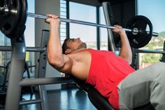 Differences among the Flat, Incline and Decline Bench Press in terms of muscles activated, injury risk and sports performance. Best Chest Workout, Chest Workouts, Chest Exercises, Weight Training, Weight Lifting, Chest Routine, Strength Training Program, Shoulder Injuries, Chest Muscles