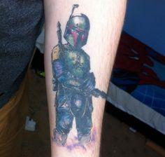 star wars tattoos | Global Geek News | Tag Archive | Boba Fett