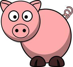 cartoon clipart free pig cartoon clipart piggie bank pinterest rh pinterest com free pig clipart downloads free pig clipart images