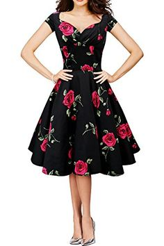 Black Butterfly 'Ruby' Vintage Infinity Swing Dress (Black - Large Red Roses, US 20) Black Butterfly Clothing http://smile.amazon.com/dp/B00K91NPL6/ref=cm_sw_r_pi_dp_8.9Iwb0NPEF6J