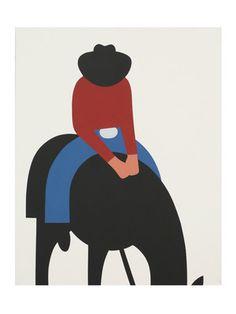 Untitled (cowboy) by Geoff McFetridge