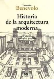 Historia de la arquitectura moderna. / Leonardo Benevolo. Signatura: 733 BEN 1  Na biblioteca: http://kmelot.biblioteca.udc.es/record=b1214920~S1*spi