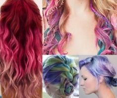 hair color chalk