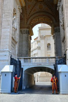Swiss Guards, Vatican City, Italy