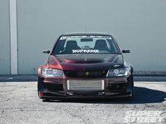 2005 Mitsubishi Lancer Evolution - Super Street Magazine