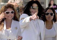 Latoya, Michael, & Janet Jackson