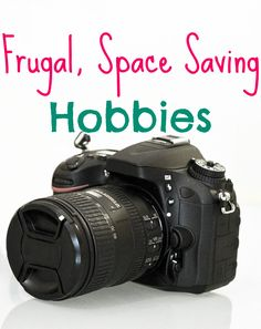 Frugal, Space Saving Hobbies. There are many hobbies that can take up little space while also helping you save money. http://www.makingsenseofcents.com/2013/10/frugal-space-saving-hobbies.html