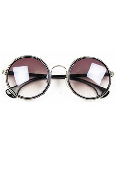 Oh my gosh....i love these Sweet Vintage Round Sunglasses -