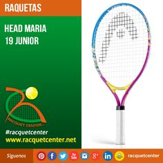 Visitanos en: http://www.racquetcenter.net/  Nombre del producto: Head Maria 19 Junior  Características del producto: Weight 170 g - 6.0 oz Beam 19 mm Head size 560 cm² - 87 in² Length 500 mm String pattern 16/19 Colors pink/blue/yellow #Head #racquetcenter #Tennis #Tenis #GrapheneSpeed #Graphene #Racquet #Raqueta #Caracas #Venezuela