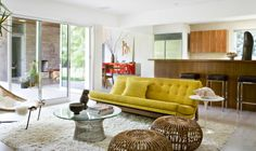 Brentwood Residence Family Room by Jamie Bush & Co. via @Dering Hall