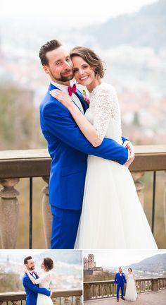 Hochzeit im Heidelberger Schloss: Vanessa und Simon