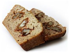 Healthier Banana Bread!  Ingredients      1 cup of cartoned coconut milk or almond milk     1/2 cup of banana-flavored whey protein     2 ripe bananas     1/2 cup of liquid egg whites     3 tbsp coconut flour     1 tbsp vanilla extract     4-6 medjool dates (depending on how sweet you like your banana bread)     1 handful walnuts     1/2 tsp baking powder
