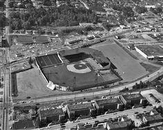Sicks Stadium - history, photos and more of the Seattle Pilots former ballpark Baseball Park, Baseball Pitching, Major League Baseball Teams, Baseball Tickets, Baseball Shoes, Baseball Players, Basketball, Western Washington, Washington State