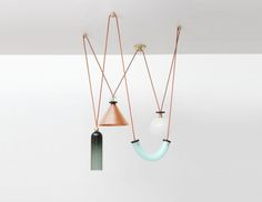 Industrial Designers Dylan Davis and Jean Lee, founders of Seattle-based Ladies & Gentlemen Studio, are the visionaries behind a versatile new lighting series that celebrates geometric shapes, materials and modularity.