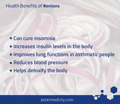 #DidYouKnow that #Onions can cure #insomnia?