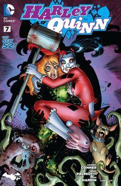 Harley Quinn (2013) #7 #DC #New52 #HarleyQuinn (Cover Artist: Amanda Conner)