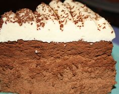 Triple Mousse Cake - Desserts Required
