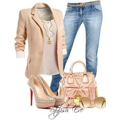 Fashionable business attire if you are sure you can wear jeans.