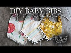 Hey everyone, thank you for so much interest in this pattern! Due to the large traffic that the link is getting it keeps getting shut down. Baby Bibs Patterns, Sewing Patterns, Bib Pattern, Free Pattern, Baby Sewing Projects, Sewing Tips, Sewing Ideas, Sewing Crafts, Burp Rags