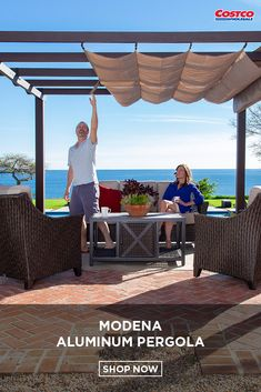 Pergola Moderne - - Backyard Pergola With Grill - Vaulted Pergola Attached To House - Small Corner Pergola Small Pergola, Modern Pergola, Deck With Pergola, Cheap Pergola, Covered Pergola, Outdoor Pergola, Backyard Pergola, Attached Pergola, Pergola Canopy