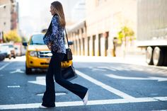 New York Fashion Week Spring 2016 Street Style, Day 8 - New York Fashion Week Spring 2016 Street Style, Day 8-Wmag