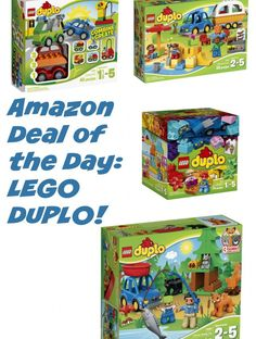 amazon deal of the day 25 off select lego duplo