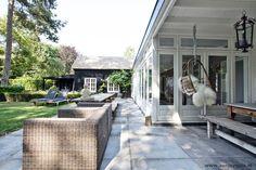 Property Apeldoorn, Mountain and Forest Outdoor Rooms, Outdoor Living, Outdoor Gardens, Outdoor Decor, Porch Garden, Terrace Garden, Home And Garden, Porches, Outside Living