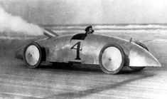 The beginnings of racing! This car performed a record mile in 38.05 seconds. (1903) | Florida Memory