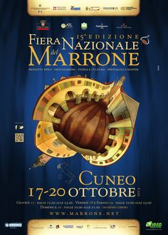 The National Chestnut Fair stands as one of the most important gastronomic fairs in Italy, a unique window of the excellences and ancient traditions of Cuneo area.