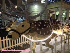 #Christmas #Lego installation 2014 in Covent Garden Piazza - Lego Reindeer http://londonmumsmagazine.com/2014/london-mums-december-2014-newsletter-school-holidays-activities-london-christmas