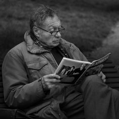 A man and his magazine by Corot2  on 500px