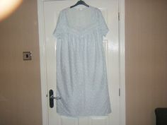 1eaa4b9ede2 Extra Off Coupon So Cheap Ladies Blue and White Nightdress Size from BHS