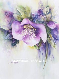 Flowers Gallery   Bev Wells Art Class