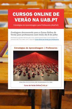 CURSOS ONLINE DE VERÃO na UAb.pt