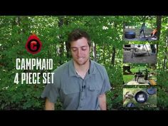 CampMaid 4-Piece Dutch Oven Tool Set