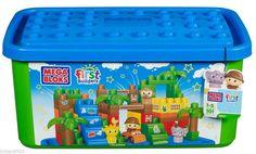 Mega Bloks First Builders Safari 6628 (Tub) NEW #MegaBloks