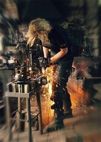 female blacksmith - Google Search