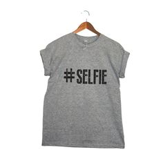 Hashtag Selfie T-Shirt: For your social media friend.