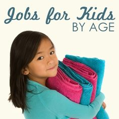 Jobs you can give the kids to do