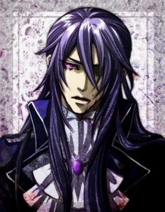 Gakupo Kamui, Vocaloid Madness of Duke Veromania (perhaps?) << Hey guys look it's Grell's twin brother